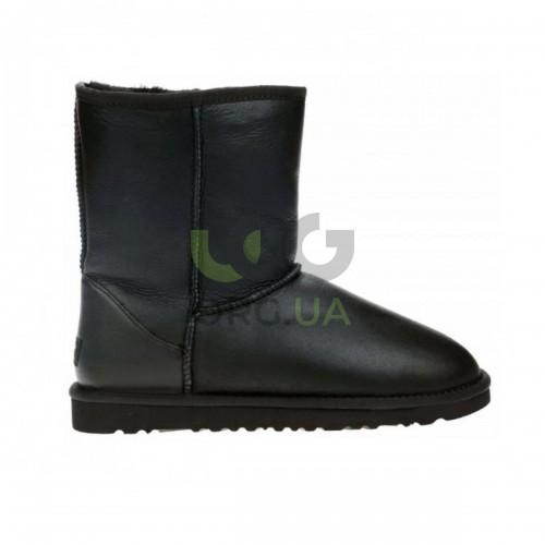 Classic Short Leather Black