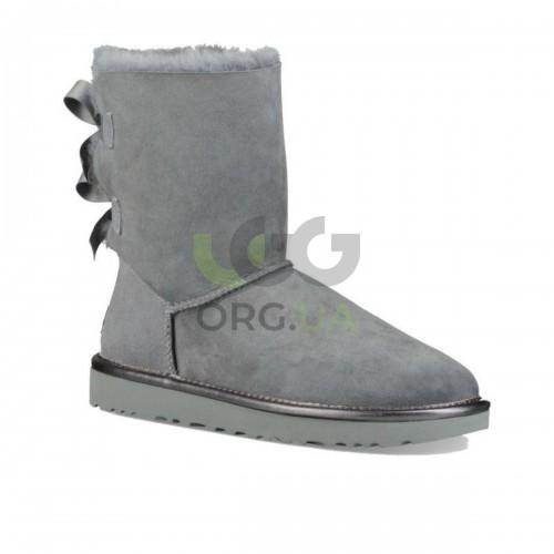Classic Short Bailey Bow II Metall Grey